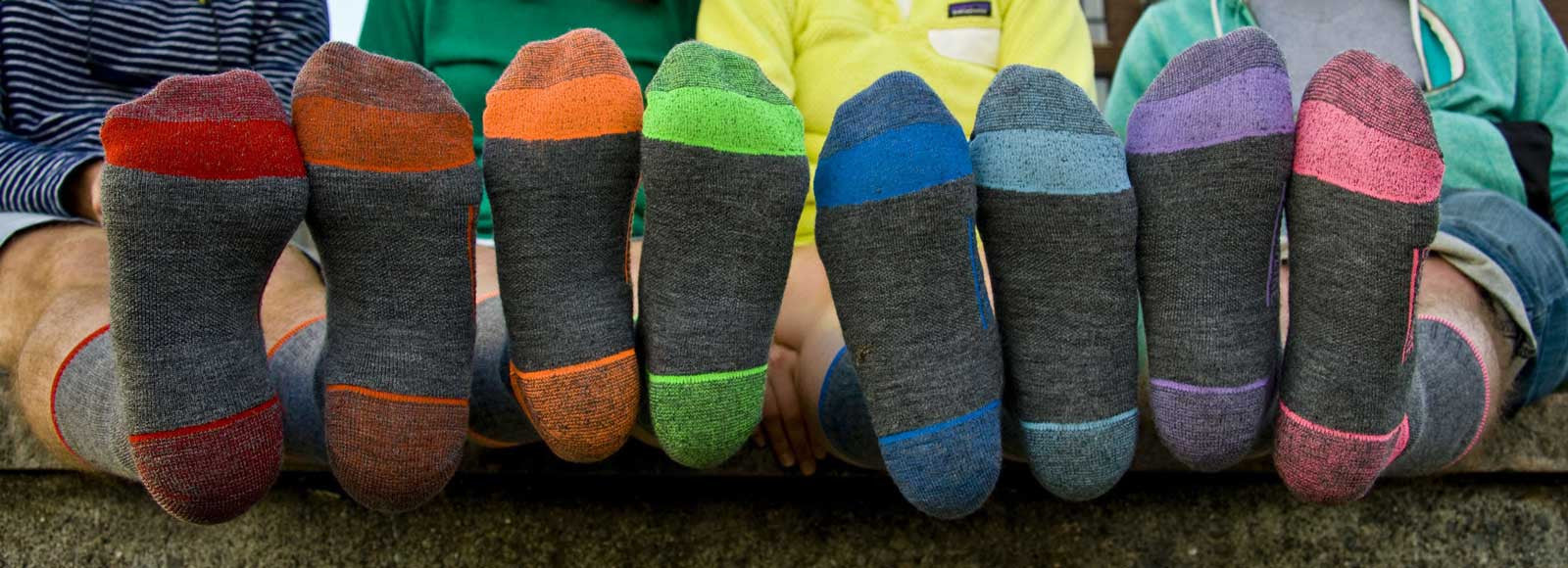 CloudLine Socks in Bold Colors for Bold Adventures