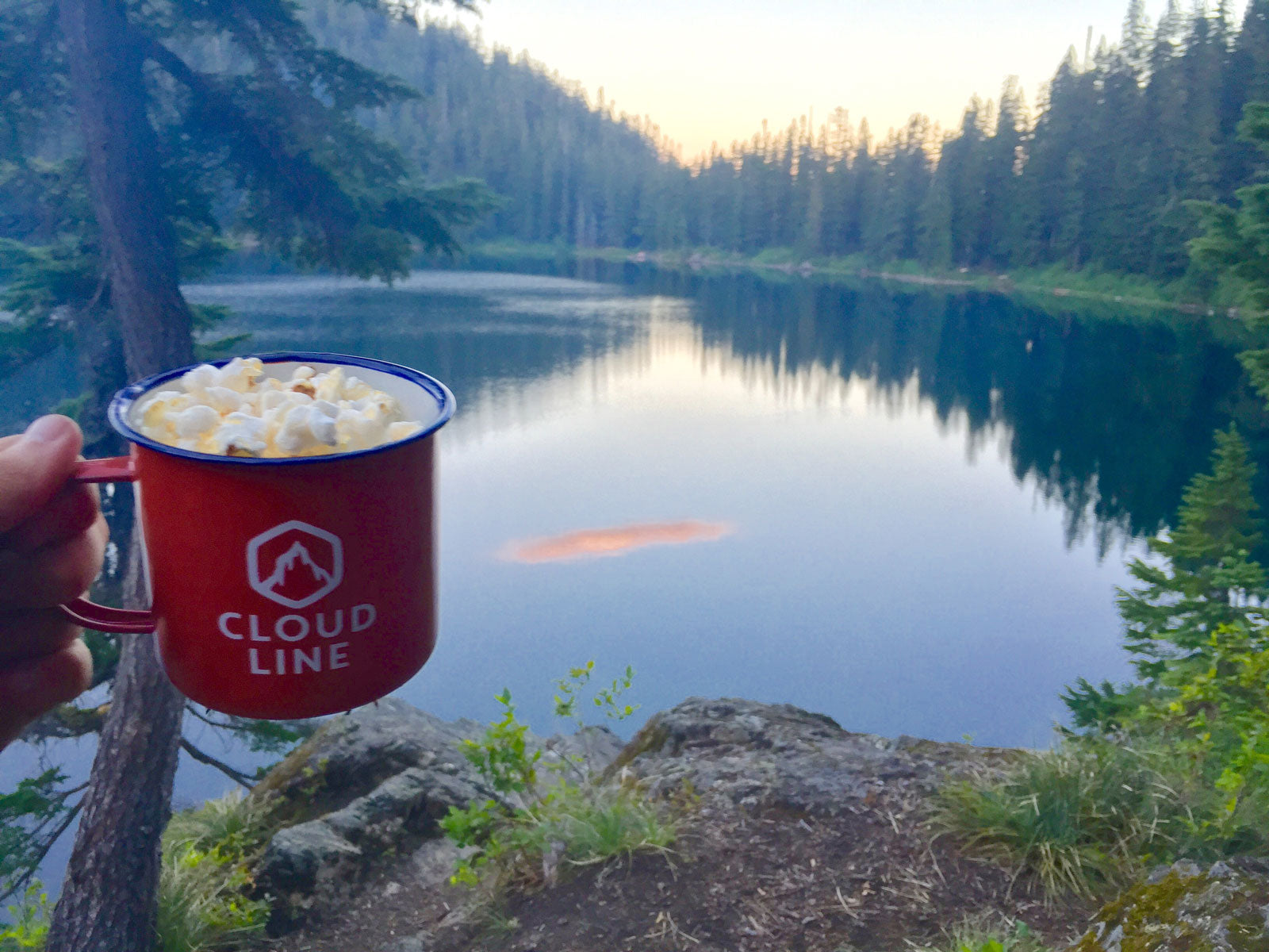 Easy Backpacking Stove Popcorn Recipe | CloudLine Apparel