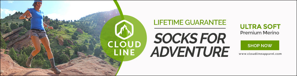 CloudLine Hiking Socks are Ready for All Your Adventures. Shop Now!