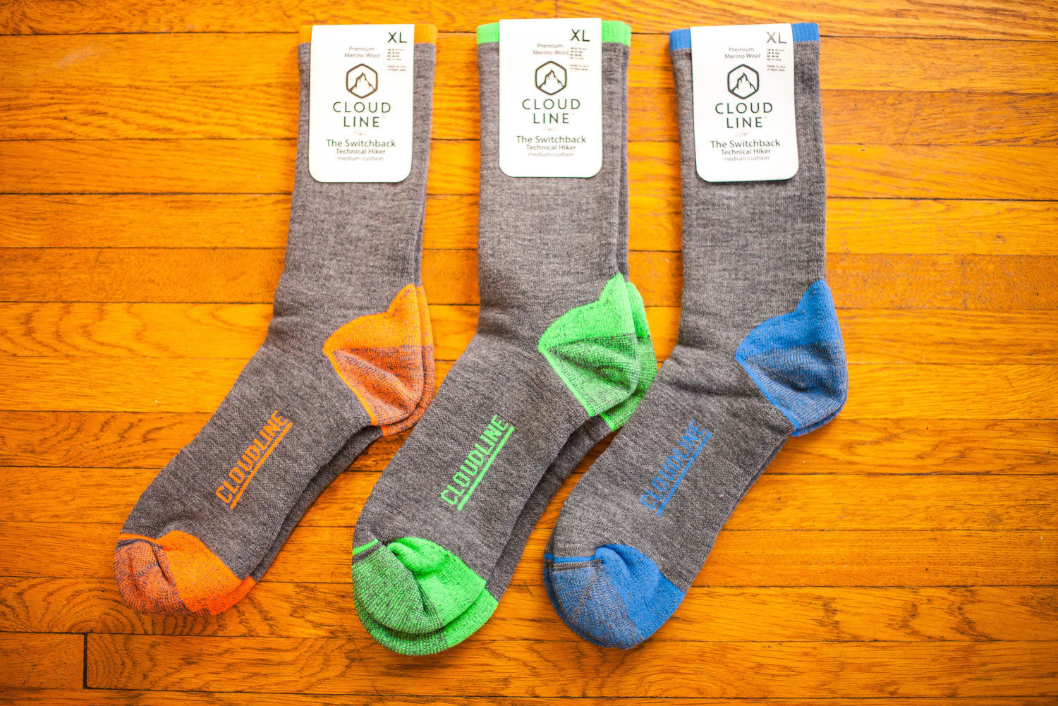CloudLine Hiking Socks Now Available at BigOutdoors.org
