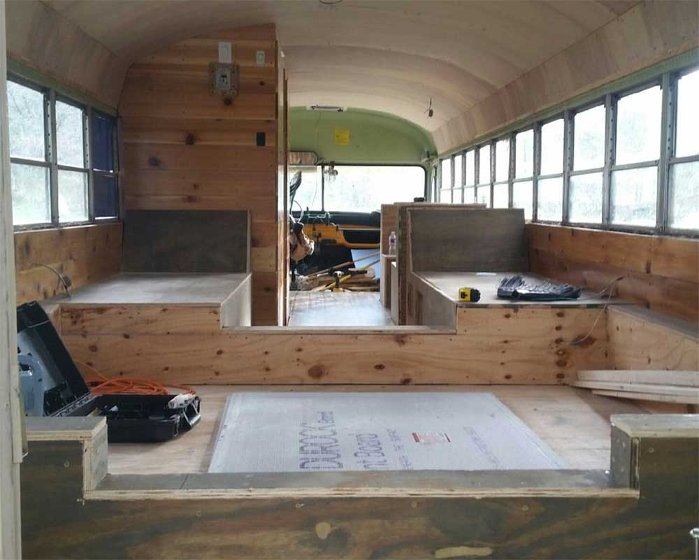 Converting a School Bus into an Adventure Mobile