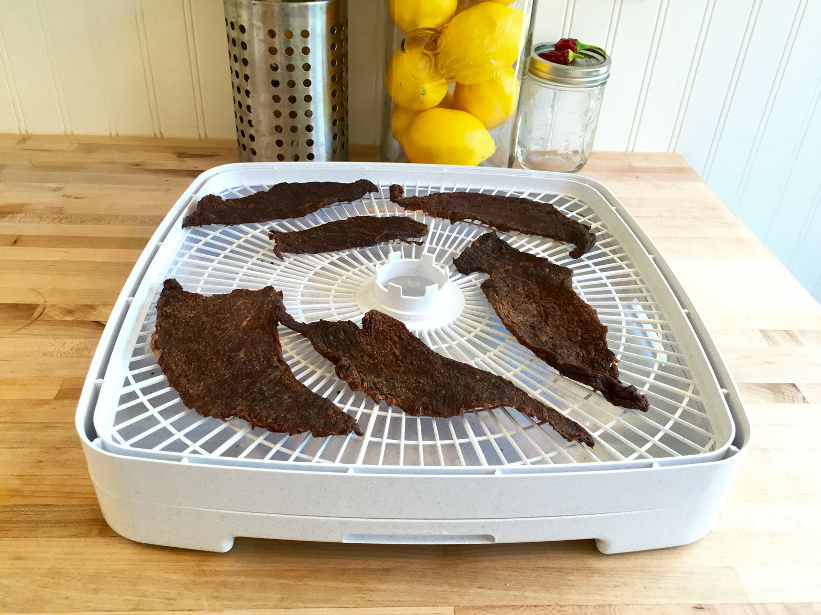 Hiking Food: Mustard and Co. Smoky BBQ Beef Jerky Recipe