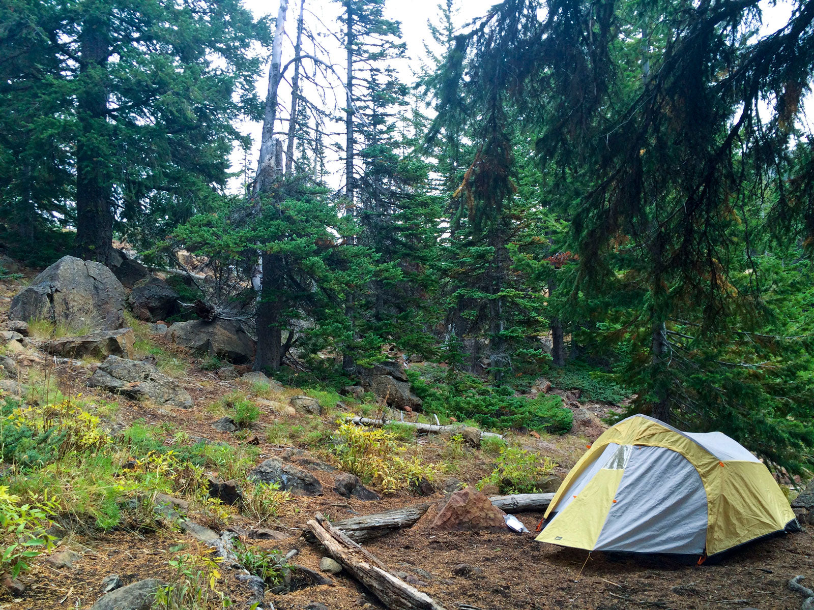 Jennifer's First Overnight Backpacking Trip - The CloudLine Blog