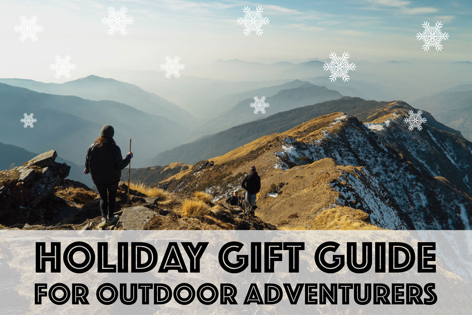 Holiday Gift Guide for the Outdoor Adventurers in Your Life