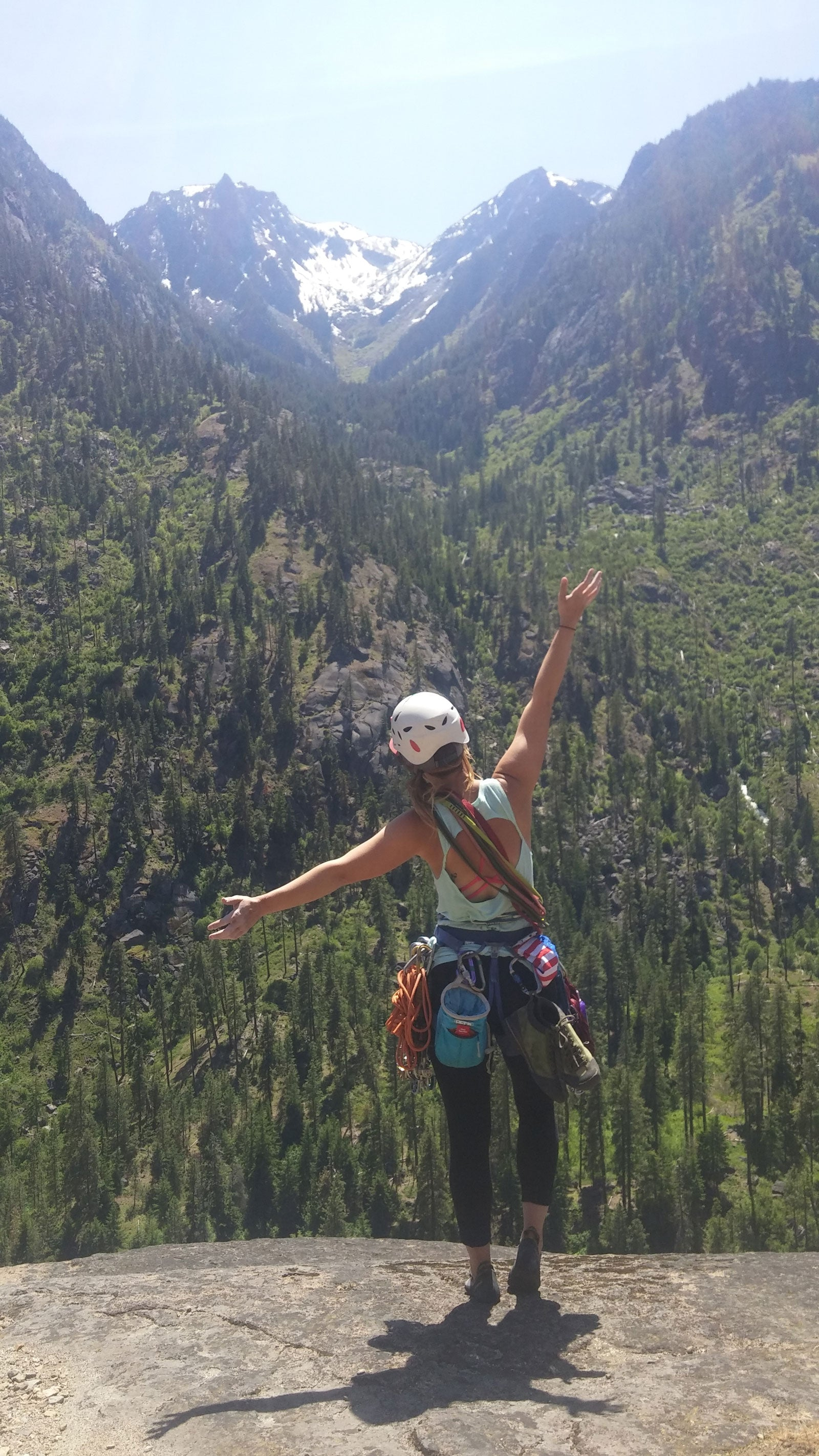 My Name is Laura And I Am A Climber - CloudLine Hiking and Backpacking Blog
