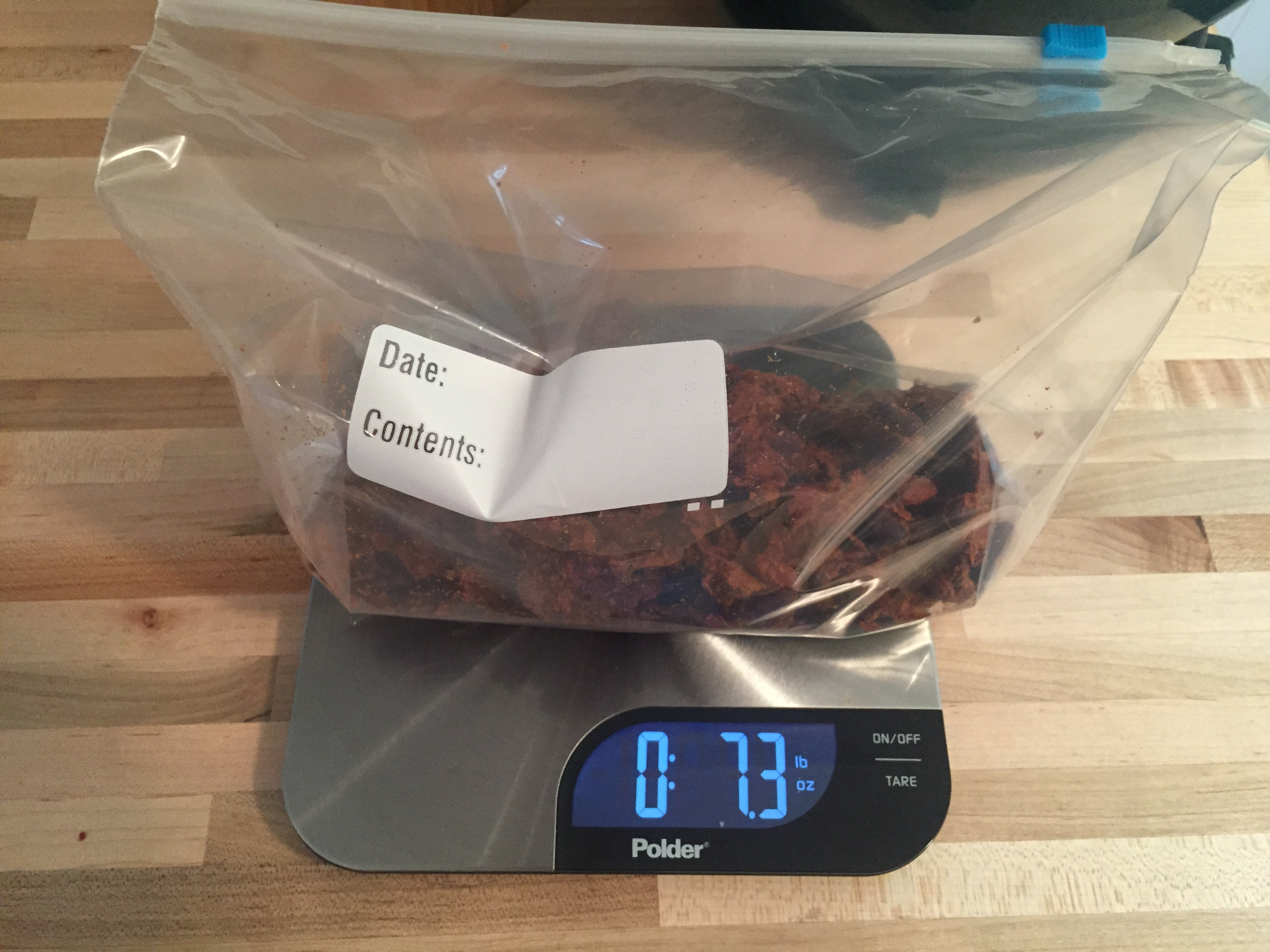 After Dehydration most homemade backpacking meals will be a fraction of their original weight