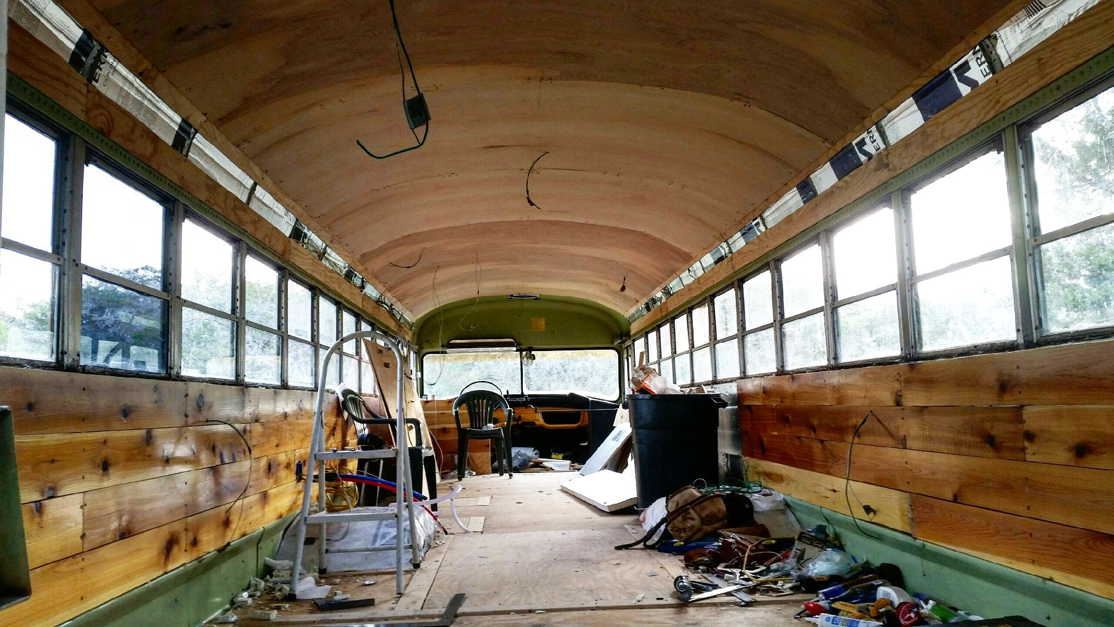 The School Bus Conversion is a big project
