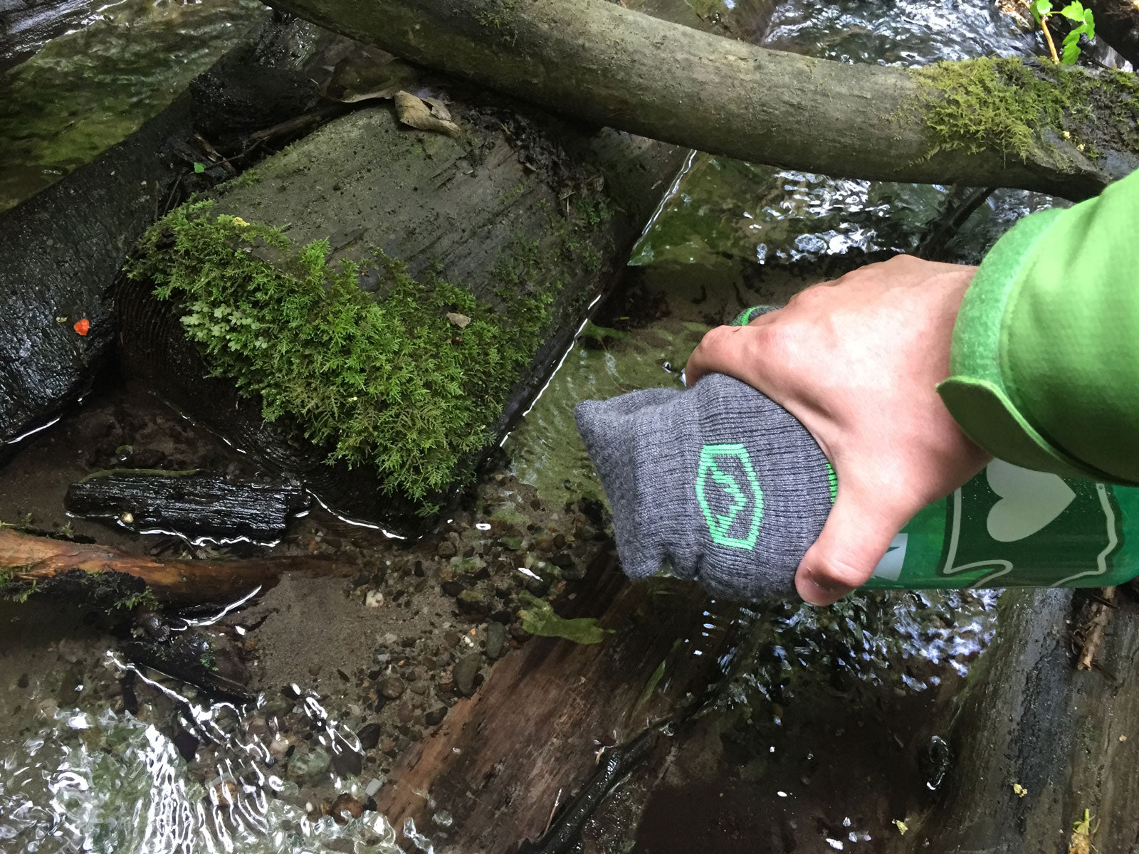 Wilderness Survival Tip - Use a Hiking Sock to Pre-Filter Water