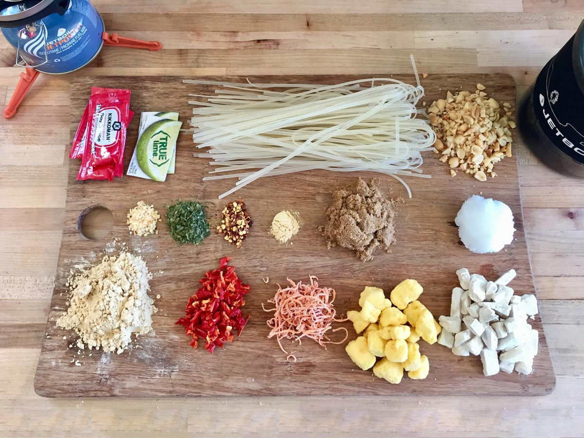 Backpacking Pad Thai Recipe | CloudLine Apparel Blog