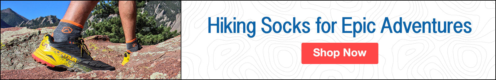 CloudLine Hiking Socks are Ready for All Your Summer Adventures. Shop Now!