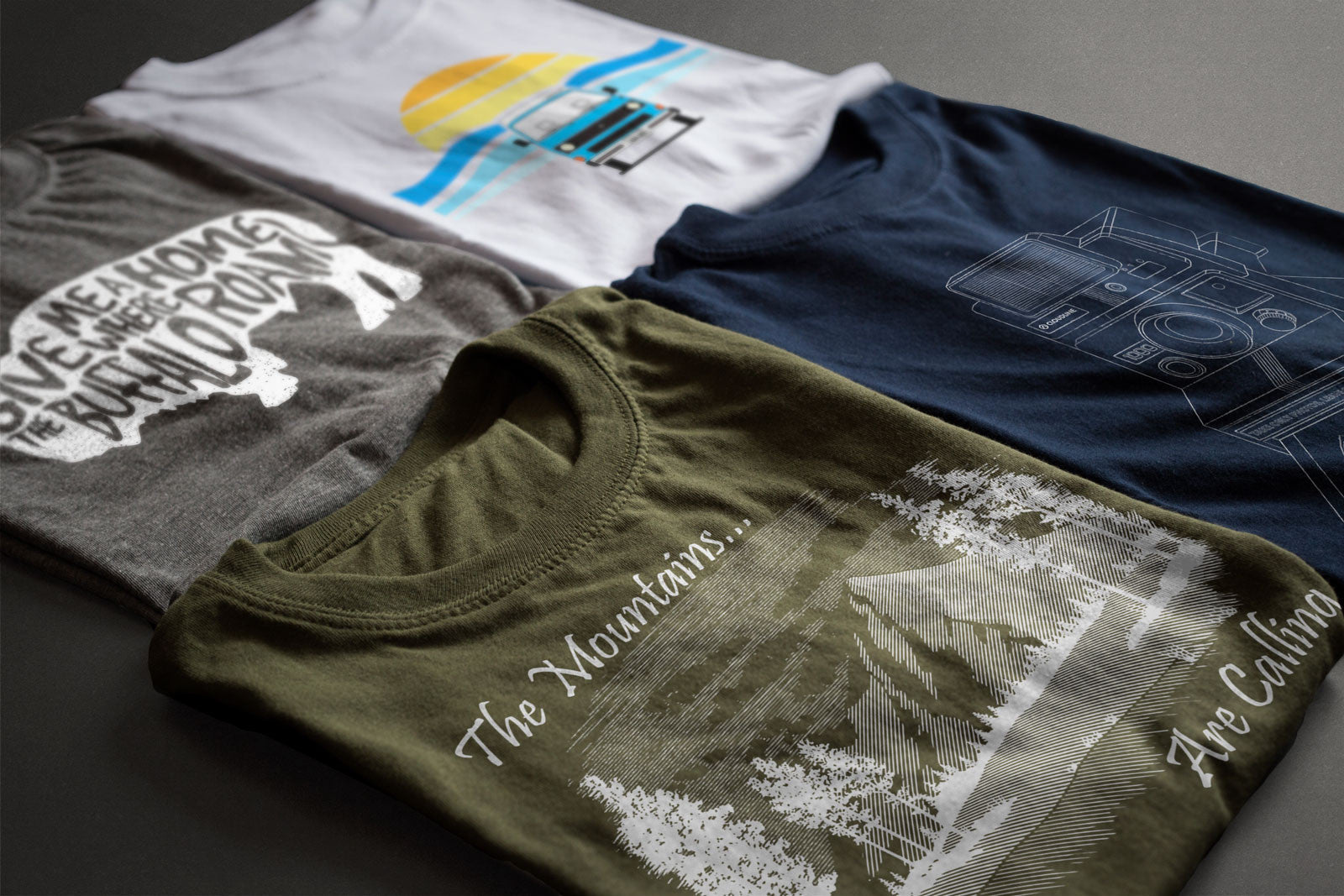 CloudLine - Adventure Inspired T-Shirts