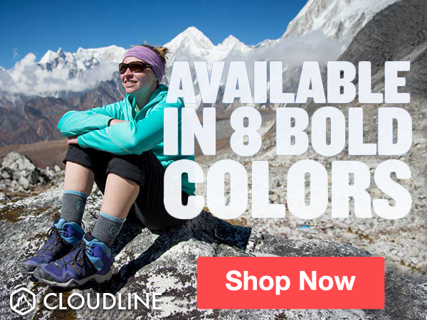 Premium Merino Wool Hiking Socks - CloudLine Apparel