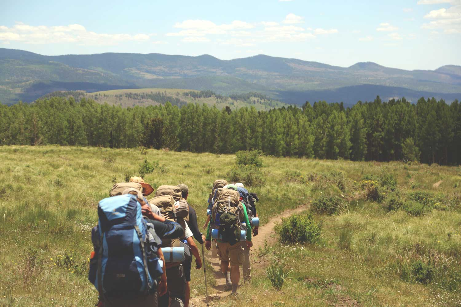 Plan a long distance or thru-hike for your new year resolution | CloudLine Apparel
