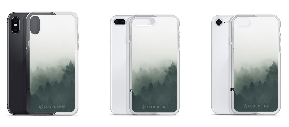 Misty Forest - iPhone Cases