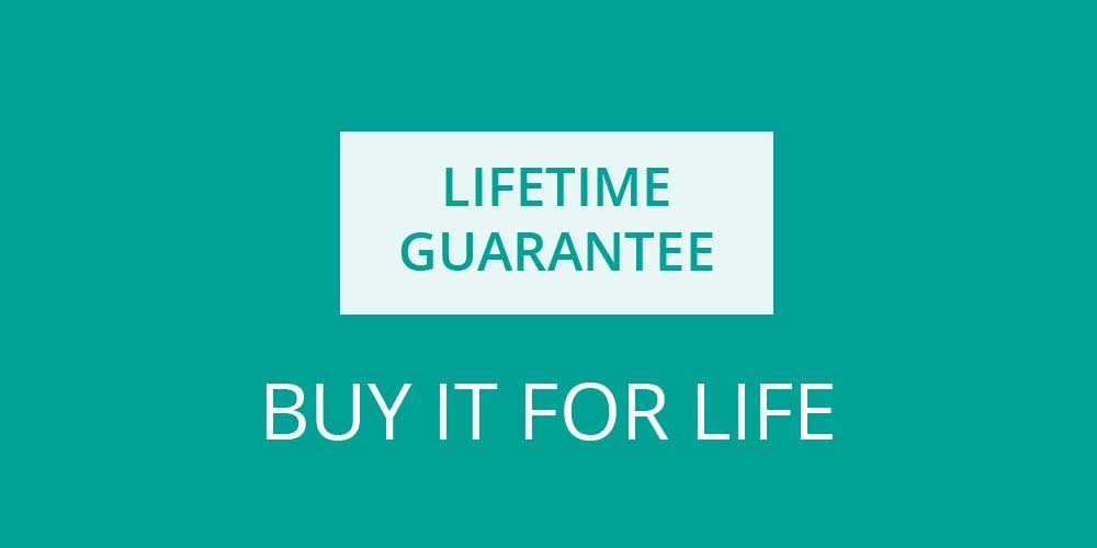 Buy It for Life - Every sock we make is guaranteed for life