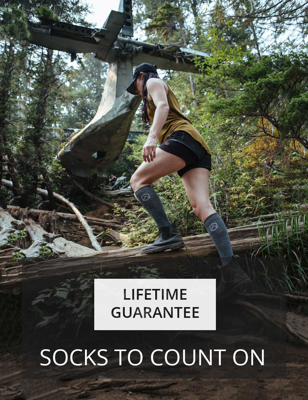 CloudLine socks are backed by our hassle-free lifetime guarantee.