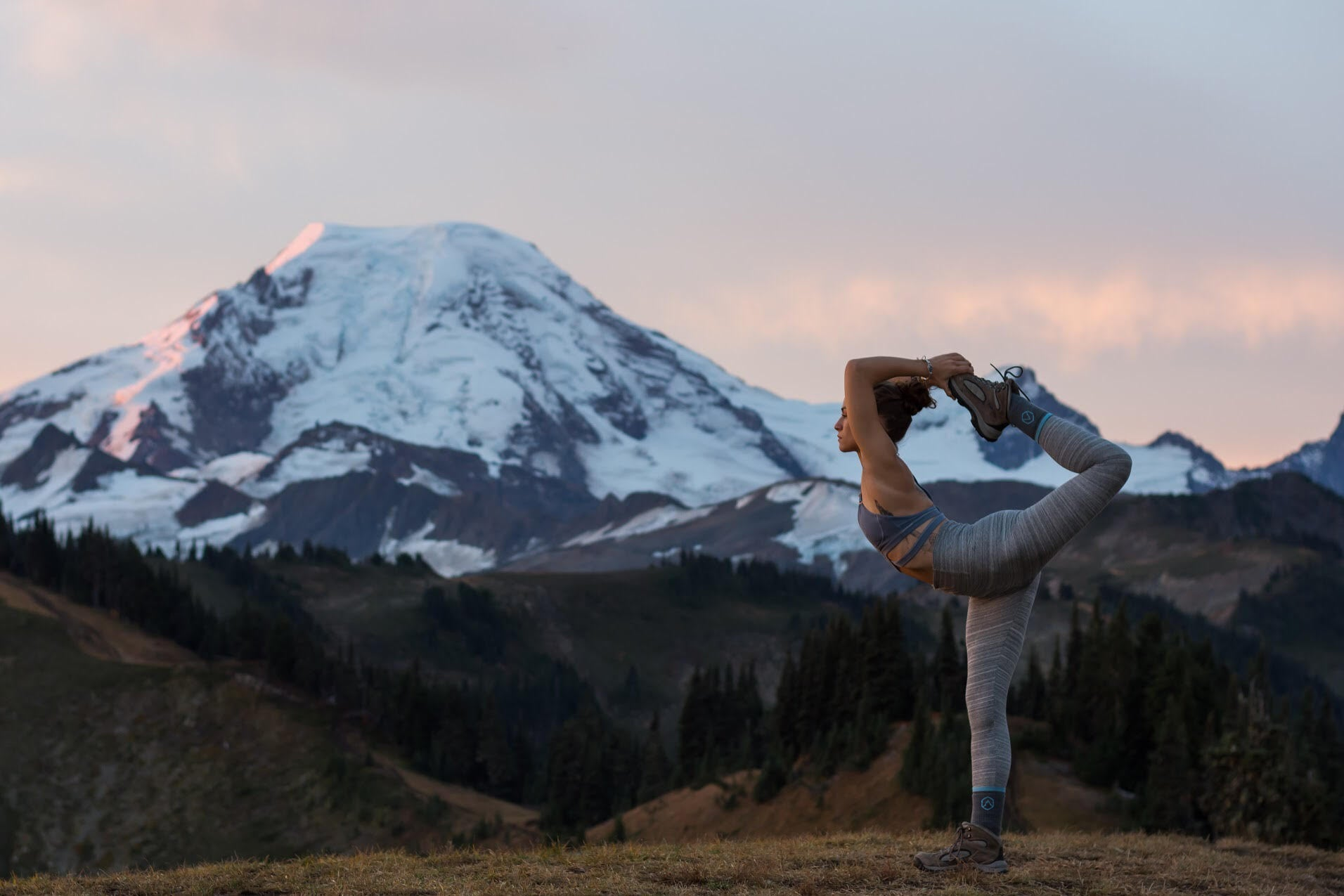 Yoga poses for hikers