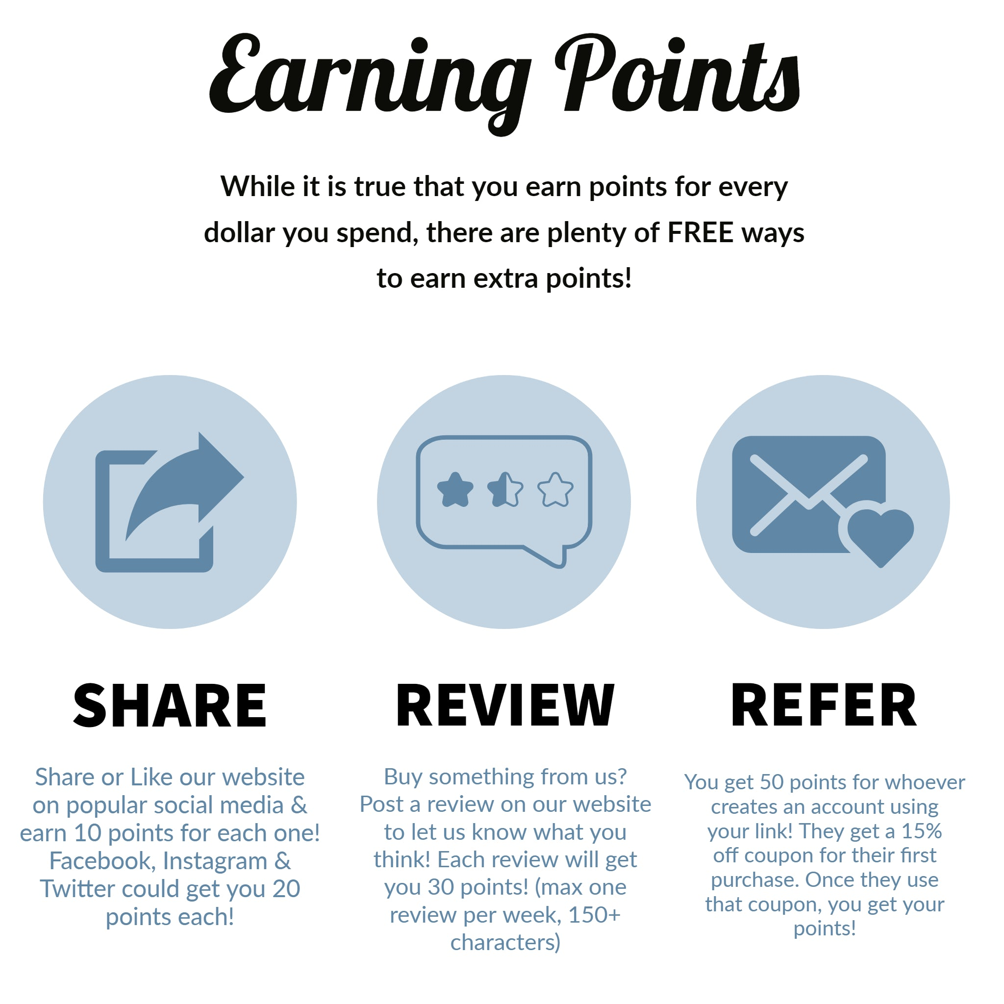 Earning Points