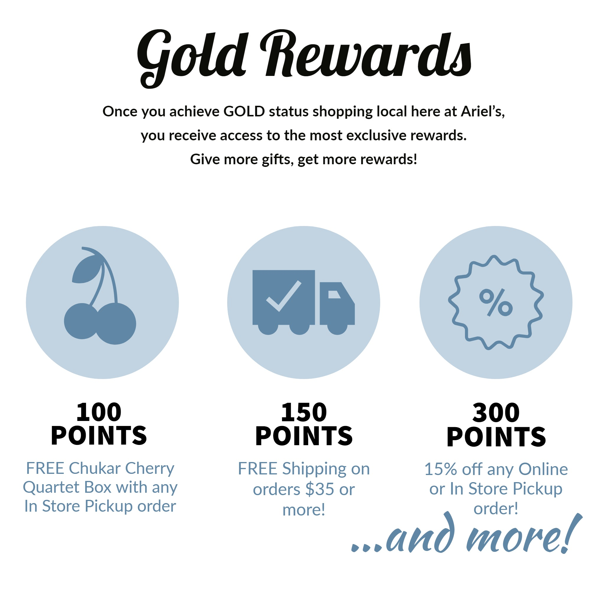 Gold Rewards