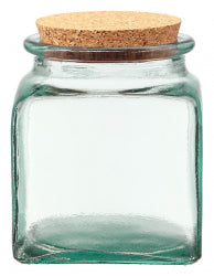Square Jar with Lid