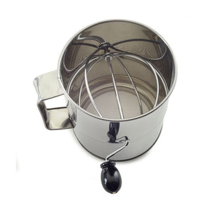 Stainless Steel Rotary Flour Sifter