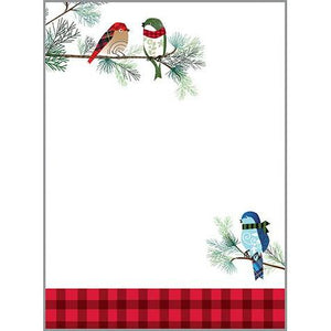 Winter Birds ~ Memo Pad