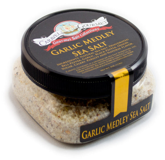 Garlic Medley Sea Salt ~ Stackable