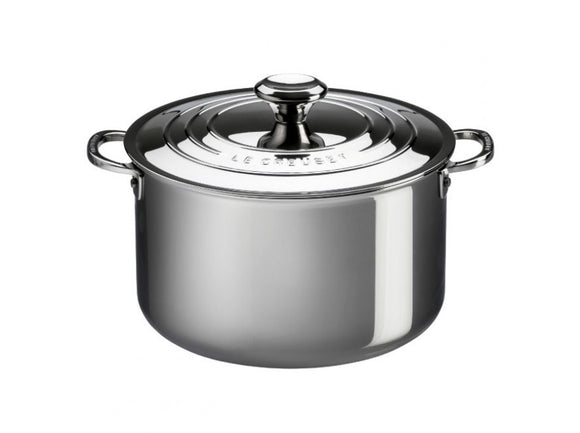 Le Creuset Stainless Steel 7qt. Stockpot with Lid