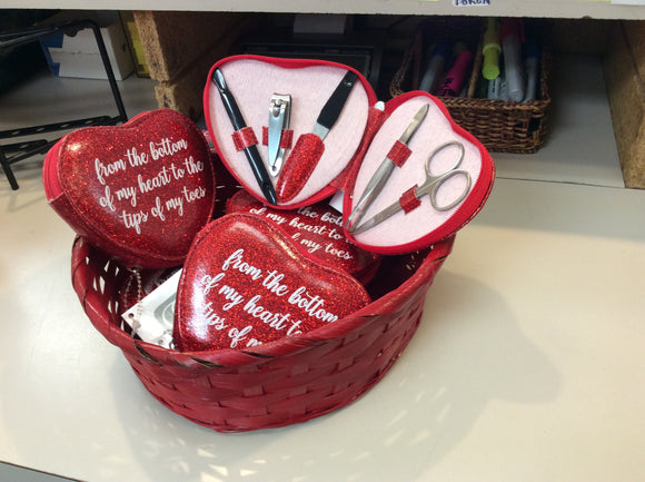 Heart Manicure Kit