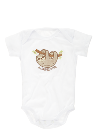 Dawdles Sloth Diaper Shirt