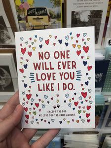No One Will Ever Love You