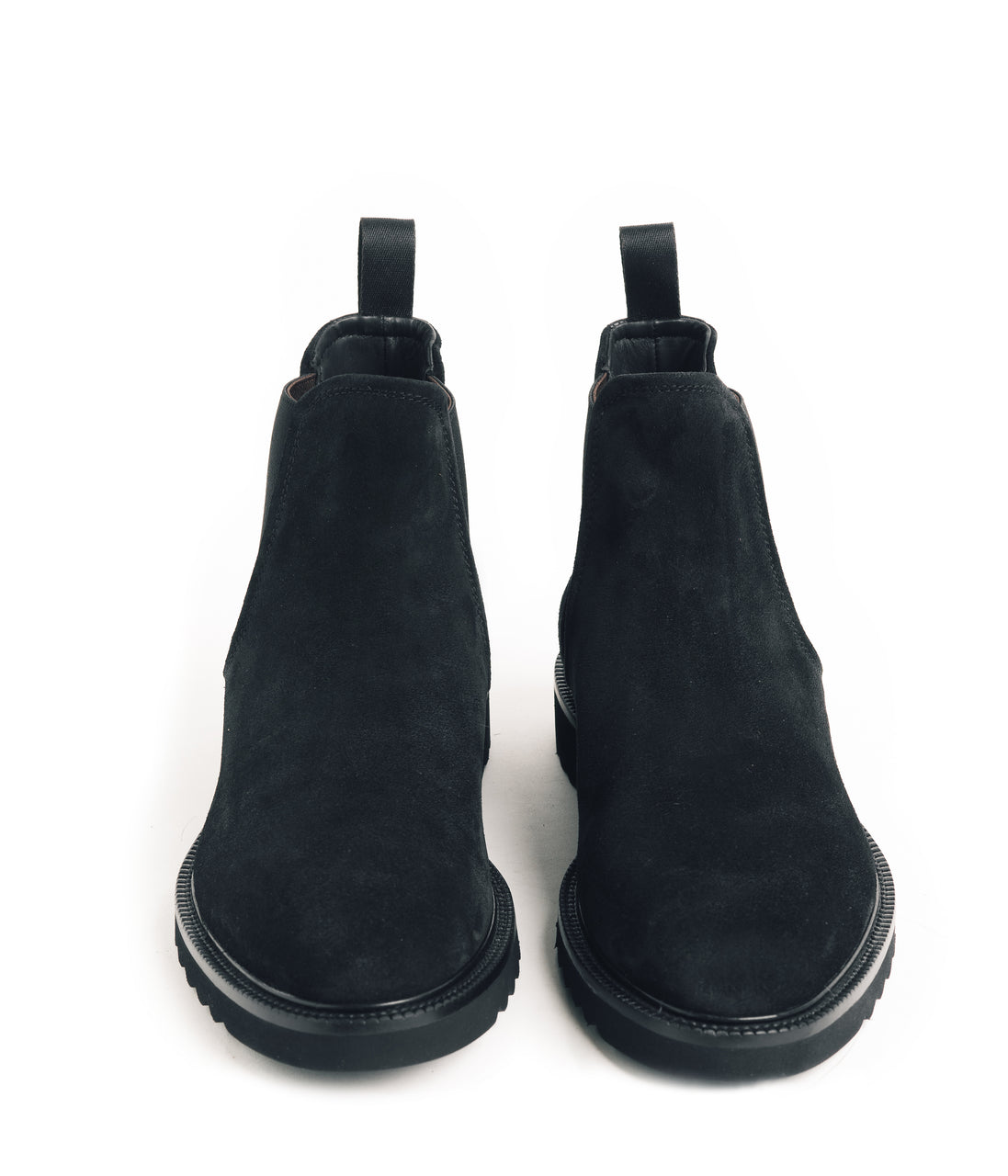 Chelsea Nubuck Boot - Black - Good Man Brand - Chelsea Nubuck Boot - Black - Footwear - Good Man Brand