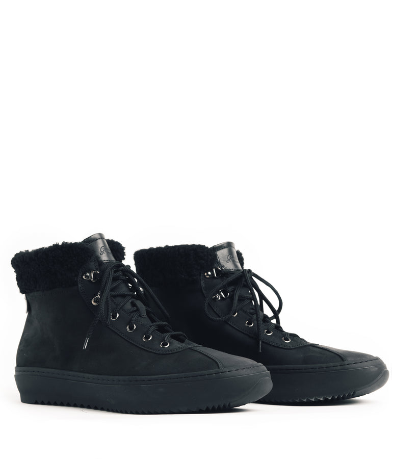 Hiker Street Sneaker - Black - Good Man Brand