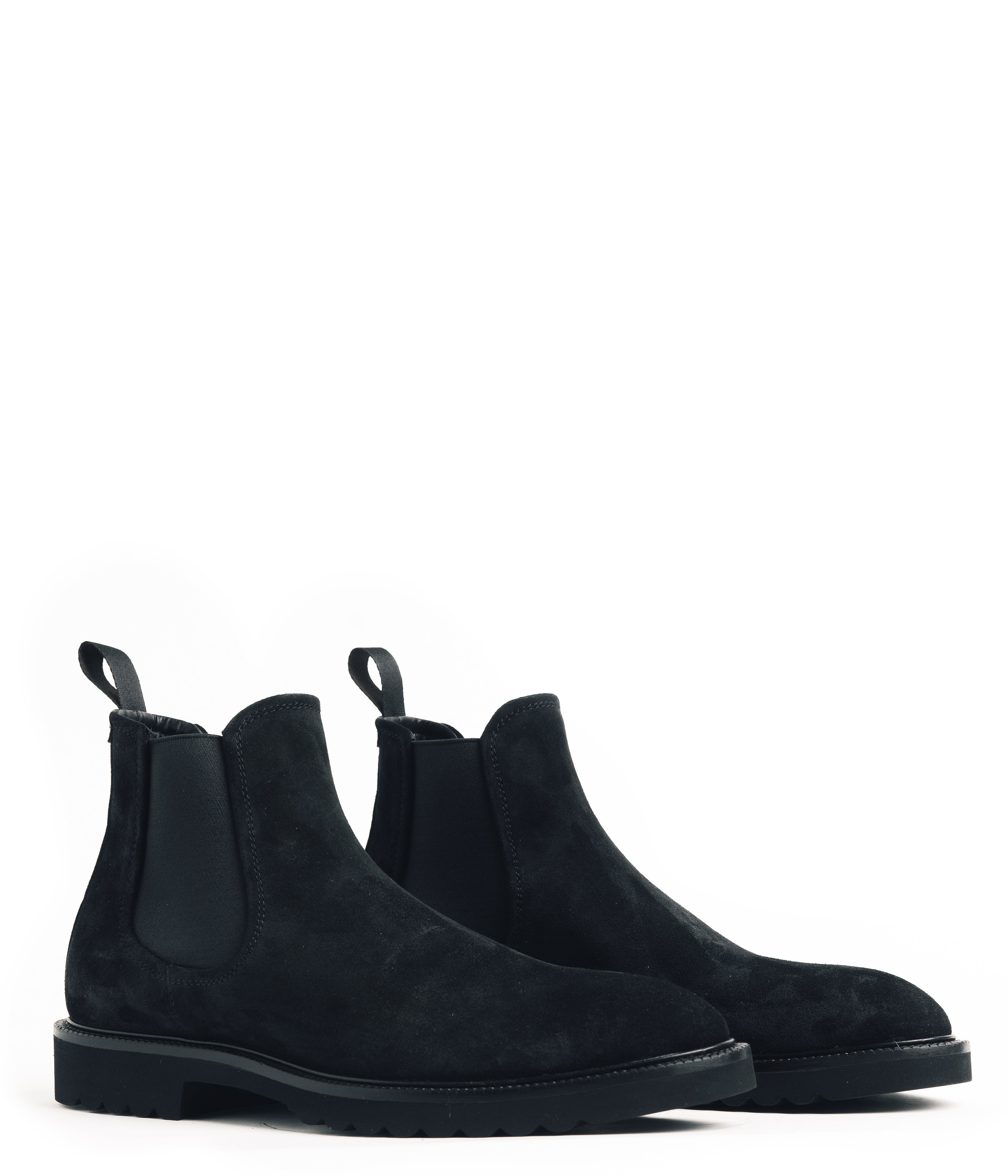 Chelsea Nubuck Boot - Black - Footwear - Good Man Brand