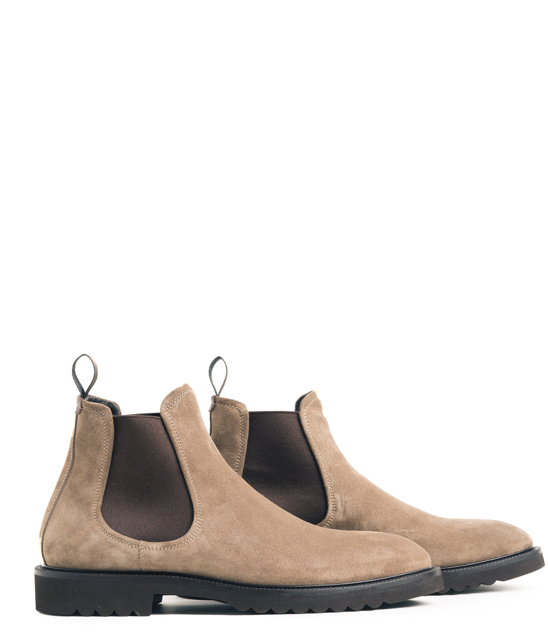 Chelsea Nubuck Boot - Sand - Good Man Brand - Chelsea Nubuck Boot - Sand - Footwear - Good Man Brand