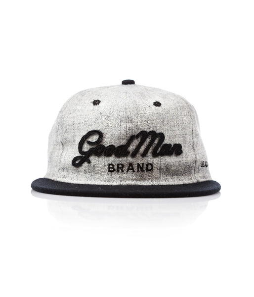 Good Man Brand x Ebbets Field Flannels Logo Ballcap - Good Man Brand -
