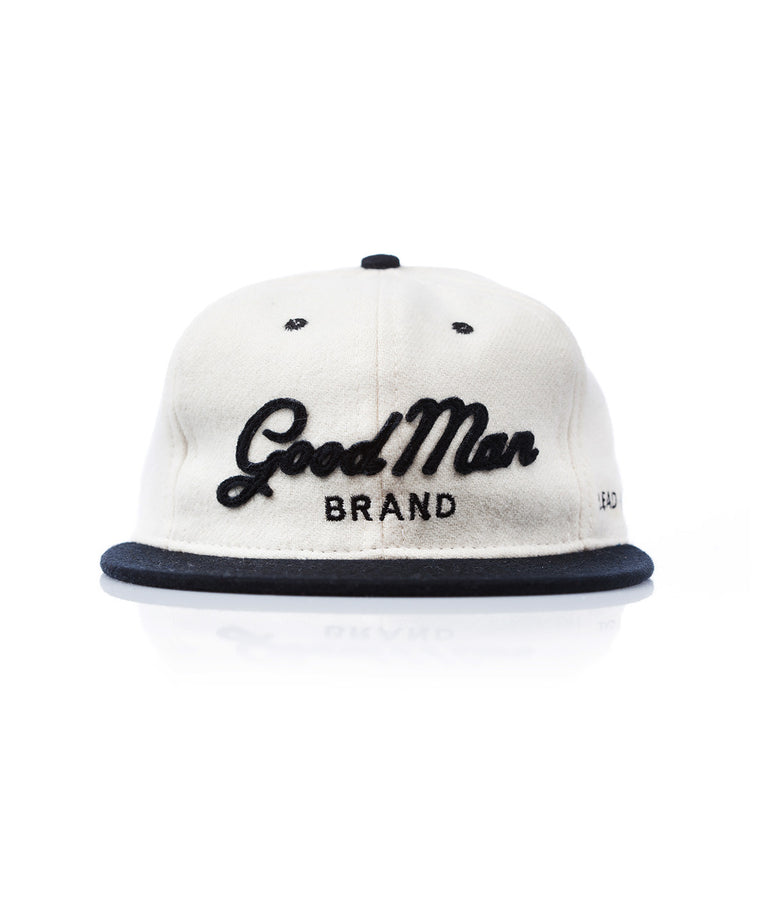 Good Man Brand x Ebbets Field Flannels Logo Ballcap - Good Man Brand
