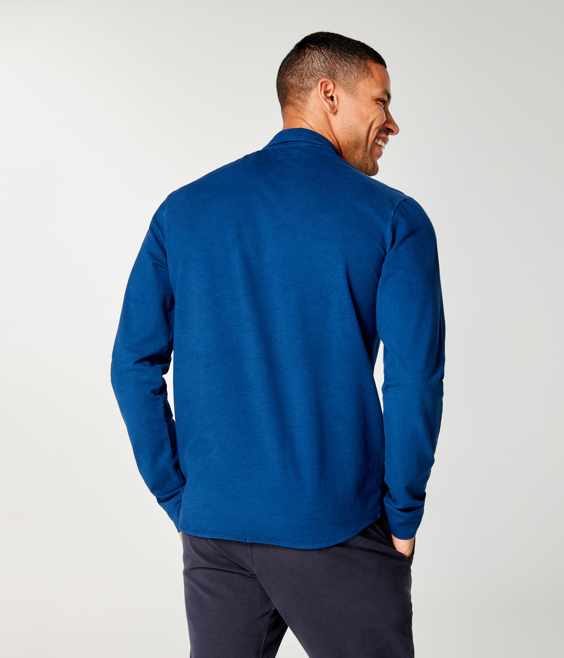 Flex Pro Jersey Soft Shirt Long Sleeve - Blue - Good Man Brand - Flex Pro Jersey Soft Shirt Long Sleeve - Blue
