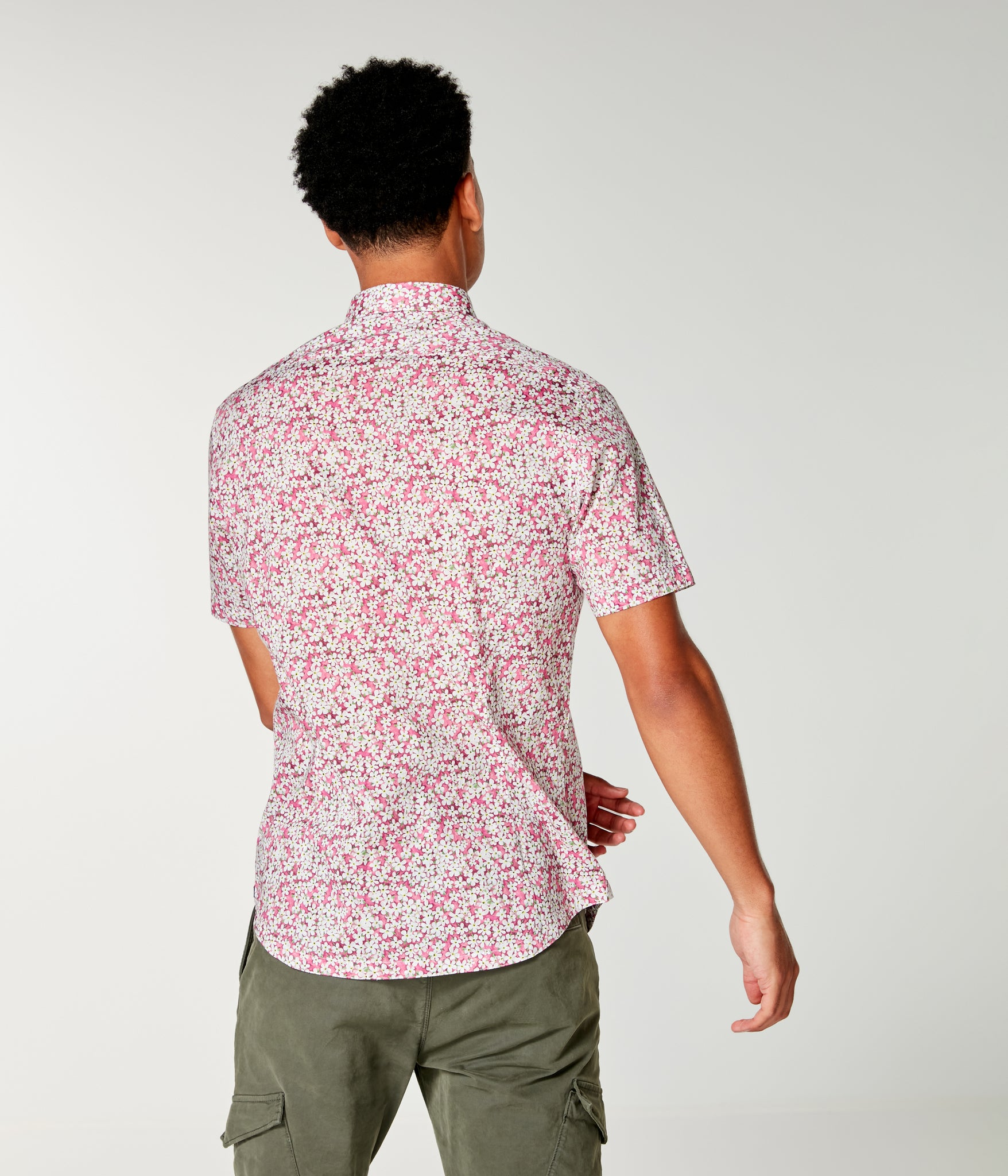 Woven On-Point Shirt - Jazzy Petal Liberty Pond