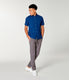 Soft Slub Jersey On-Point Shirt - Blue