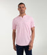 Premium Cotton Jersey Notch Neck Crew - Rose