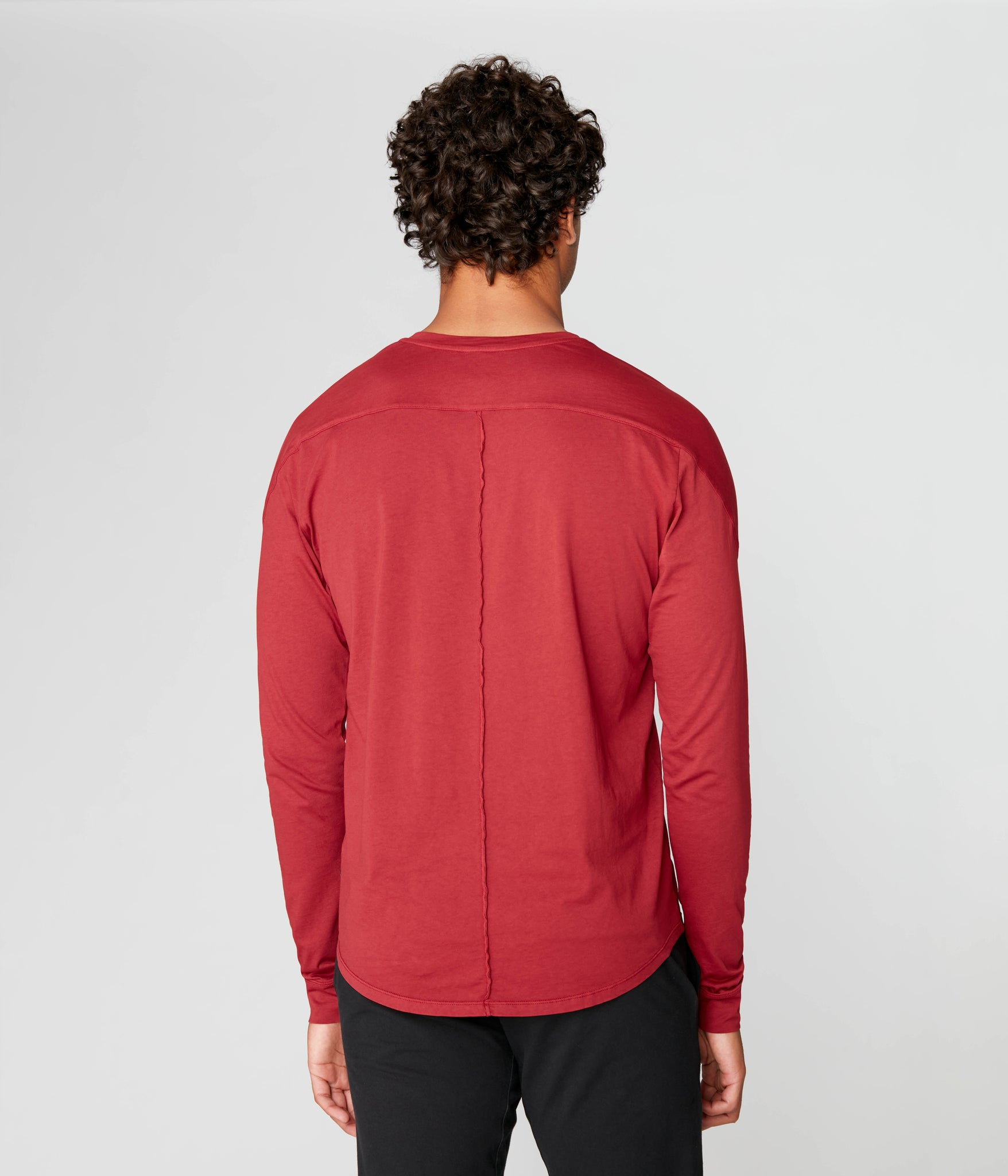 Victory V-Notch in Premium Jersey - Red