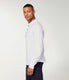 Soft Slub Jersey Legend Henley - White