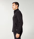 Twill Quilt Jacquard Fuji Shirt Jacket - Black
