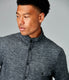 Fuji Shirt Jacket in Twill Quilt Jacquard - Charcoal Heather
