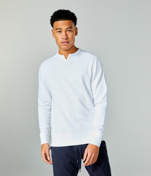 Victory V-Notch Sweatshirt - Turq - Good Man Brand -