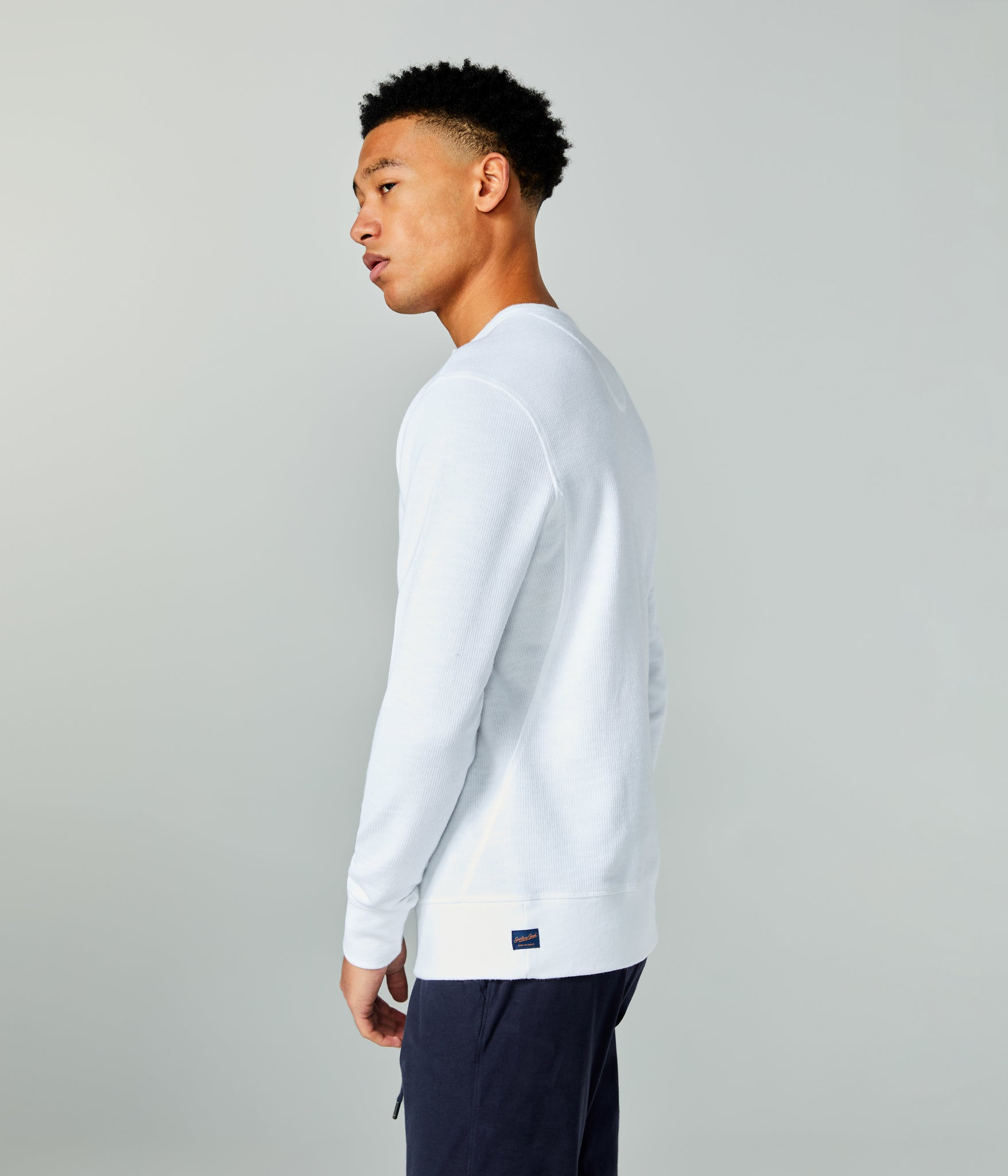Victory V-Notch Sweatshirt - White