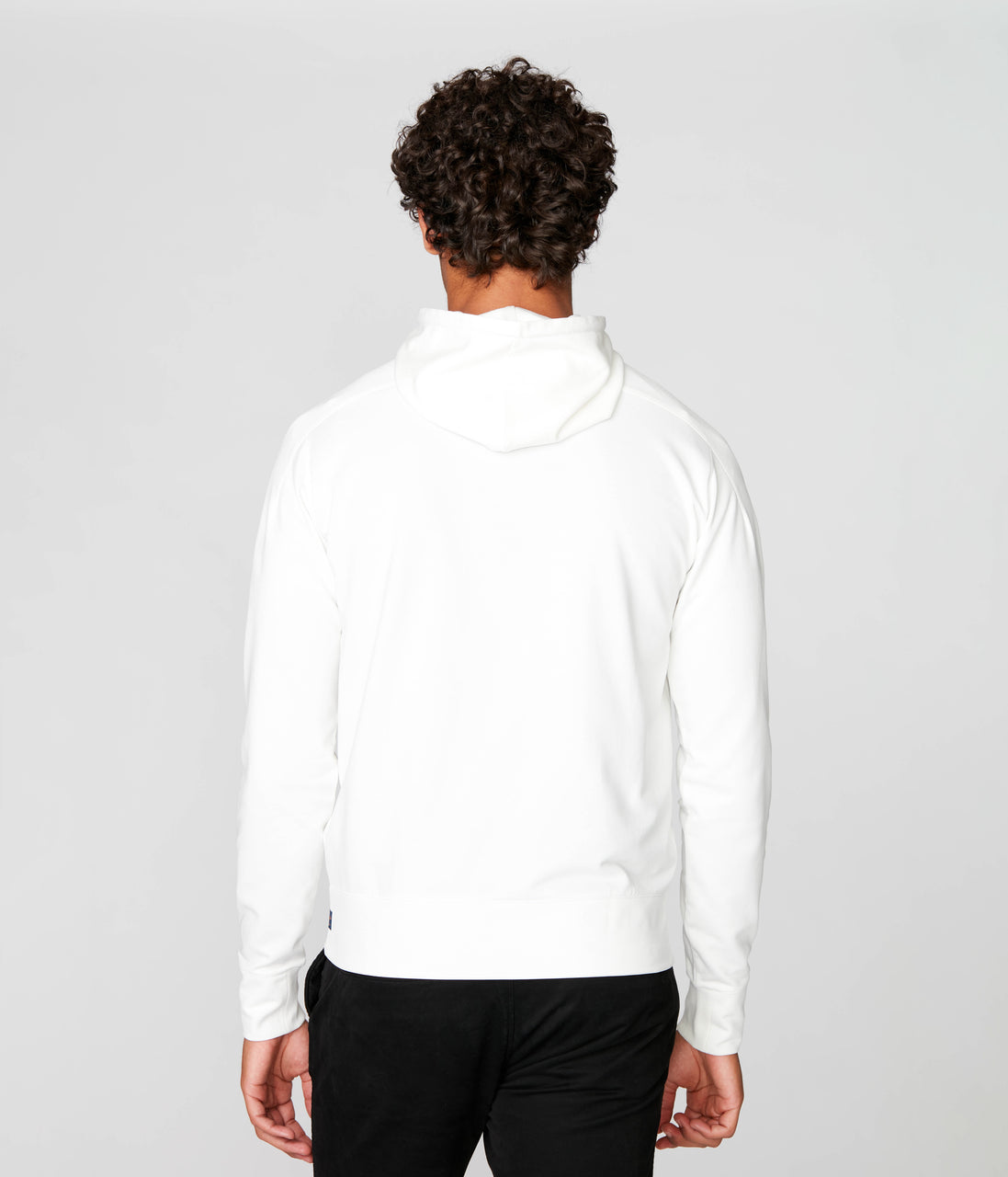 Tech Hoodie in Tech Ponte French Terry - Natural - Good Man Brand - Tech Hoodie in Tech Ponte French Terry - Natural