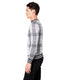 MVP Crew Intarsia Plaid Sweater - Grey