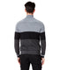MVP Track Jacket Color Block Sweater - Black